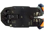 Обжимной инструмент для RJ11,  RJ45,  красный