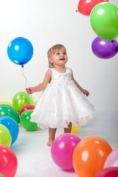 Оформление на детский праздник в Алматы. Заказать гелиевые шары.