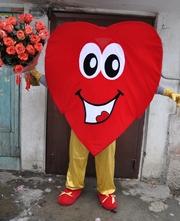 продаётся сердце - ростовая кукла