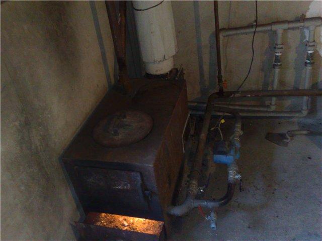 Печка для водяного отопления дома своими руками