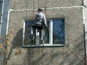 ремонт рустов,  межпанельных швов,  утепление квартир снаружи,