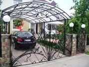 кованные красивые навесы в Алматы