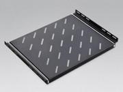Linkbasic полка стационарная,  для шкафов глубиной 450мм,  цвет черный.