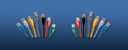 LinkBasic  Cat 6 UTP патч корд,  3m,  цвет голубой