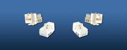 LinkBasic Розеточный модуль 5е FTP 1xRJ45 Keystone jack 90о