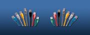 LinkBasic  CAA01-SC5E-3-B Cat 5E FTP патч корд,  3m,  цвет голубой