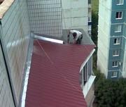 Ремонт балконного козырькаи и установка в Алматы 328 98 20