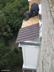 Качественный ремонт балконного козырька в Алматы 328 98 20