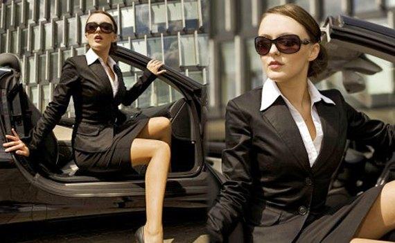 Офисные костюмы для девушек