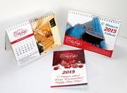 Дизайн и печать календаря,  плаката для компании на новый год,  праздник,  корпоратив или день рождения.