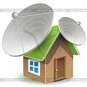 Ремонт и настройка спутниковых антенн.