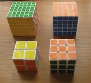 Продам головоломки 8х8х8,  6х6х6,  5х5х5,  3х3х3. $100.Т: 87012037154