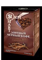 Черный кофе с экстрактом Кордицепса