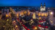 В Праге Новогодние Каникулы с  3 по 11 января!!