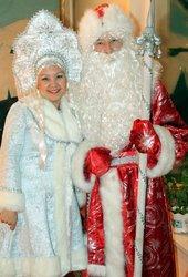 Аяз ата мен ақшақар,  дед мороз и снегурочка,  в Алматы