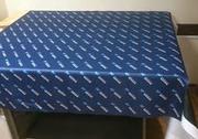 Скатерти для конференций Алматы(пошив и печать) под заказ