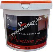 Матовая,  акриловая водоэмульсионная краска Premium Paint