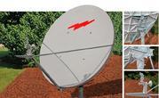Приемопередающая  антенна 1.8 метров Ku-диапазона,  SKYWARE GLO
