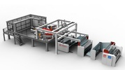 Экструзионная линия для производства 3 слойной каст-пленки PET