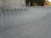 Спиральный барьер безопасности