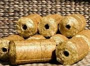 линия для производства брикетов из соломы Biomasser