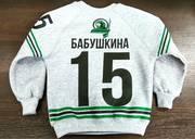 Свитшоты с печатью изображений,  на заказ в Алматы.