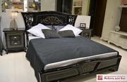 Спальный гарнитур Винтаж черная со склада