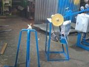 Станок полуавтомат для плетения сетки рабицы