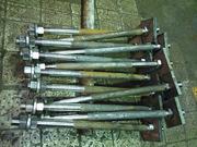 Болты фундаментные изогнутые тип 2.1 ГОСТ 24379.1-80