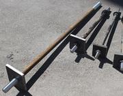 Фундаментный болт с анкерной плитой  Тип 2, 1 ГОСТ 24379.1-80 (2012)