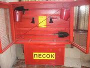 Щит пожарный закрытый в комплекте (Алматы)