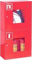 Шкаф пожарный для 1 рукава и 2х огнетушителей (Алматы)