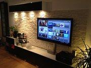 Профессиональная навеска телевизоров в Алматы - 3500 тенге за 1 точку.