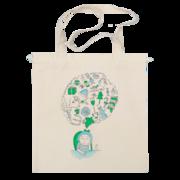 Сумка с принтом. Печать на сумке авоськи,  рисунка или надписи. Долгов