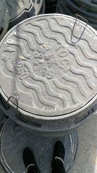 Люки чугунные канализационные Тип Т вес 90 кг нагрузка 25 тонн