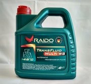 RAIDO Trans Fluid Multi WS cинтетическая жидкость Multi-Vehicle