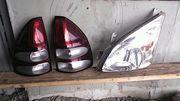 Фары,  фонари,  стекла на Toyota Land cruiser Prado