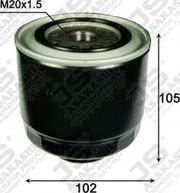 Топливный фильтр FC 3206/FC 0033 для Mitsubishi L 200