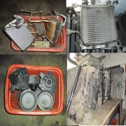 Радиатор печка ,  моторчик печка Toyota L C Prado , Hilux Surf , 4Runner