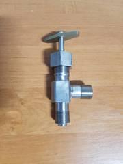 Вентиль угловой цапковый Ду 6-25 Ру 16-45 (соответствует таблице фигур