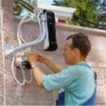 Ремонт системы видеонаблюдения,  сигнализации