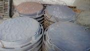 Люки чугунные канализационные ГОСТ 3634-99 тпи Т