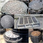 Люки чугунные канализационные изготовление
