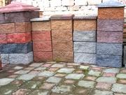 Колотые (сплитерные) блоки в Алматы