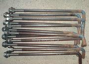 Анкерный фундаментный болт с гайками в комплекте ГОСТ 24379.1-80