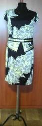 Платье из 100% хлопка. Под костюм,  пиджак. Размеры: 46 - в остатке 1 ед.