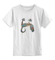 Детские яркие футболки с рисунками. Печать на детских футболках любых
