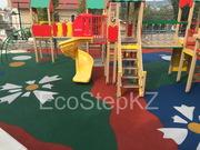 Устройство  наливных детских площадок
