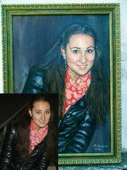 Портреты по фото в Алматы.Профессионально и недорого.