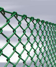 Сетка плетеная с полимерным покрытием